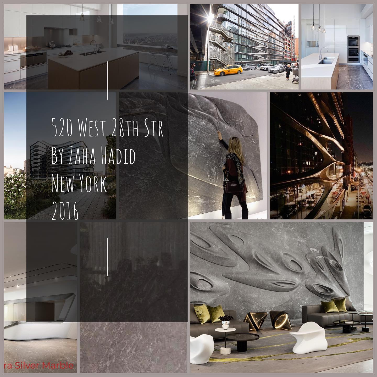 520 West 28th Str by Zaha Hadid New York 2016