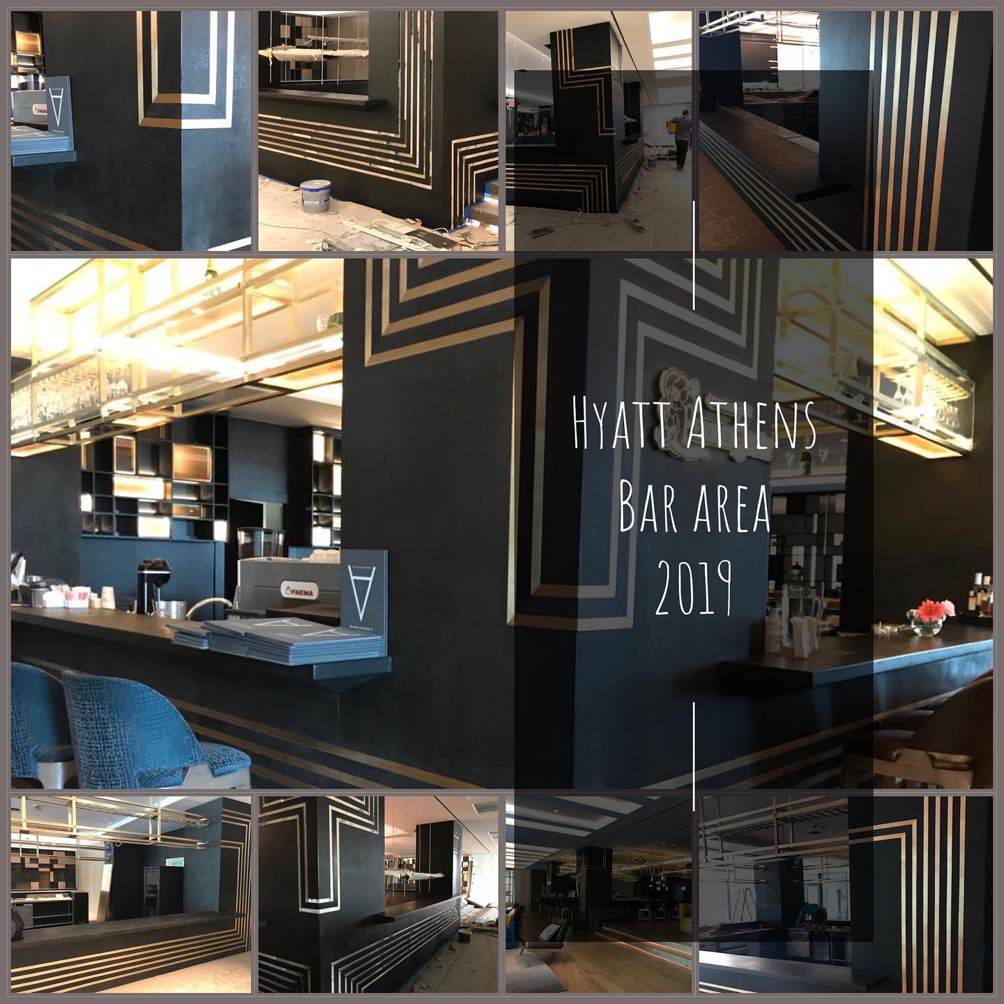 Grand Hyatt Bar Area Athens 2019